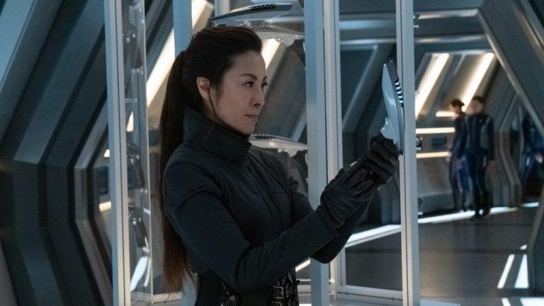 Michelle Yeoh as Georgiou in Star Trek: Discovery Season 3 Episode 9