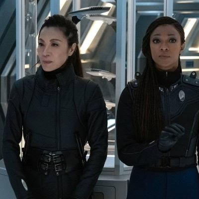 Georgiou and Michael in Star Trek: Discovery Season 3 Episode 9