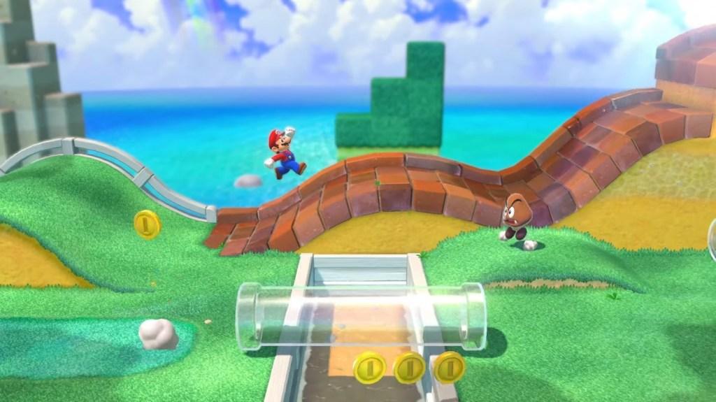 Mundo de Super Mario 3D