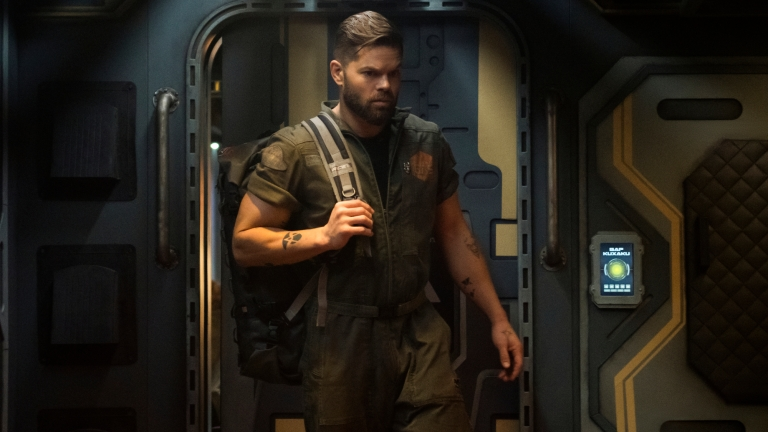 Wes Chatham as Amos in The Expanse