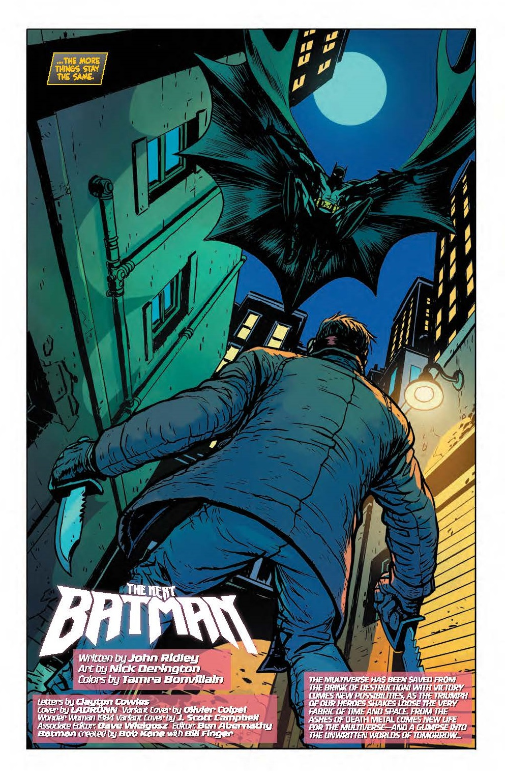 How The Next Batman Sets Up a New Saga for the Dark Knight
