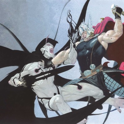Gorr the God Butcher vs. Thor in Marvel Comics