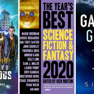 Top New Science Fiction Books in December 2020 Covers