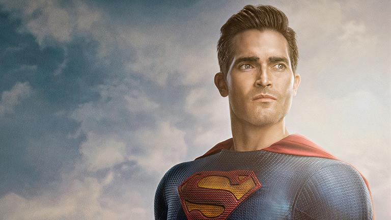 Tyler Hoechlin as Superman on the CW's Superman and Lois