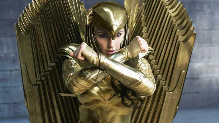 Diana in Her Golden Armor in Wonder Woman 1984