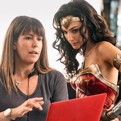 Patty Jenkins and Gal Gadot; Wonder Woman 1984