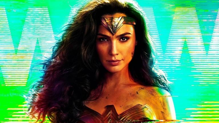 Gal Gadot, Wonder Woman 1984 poster