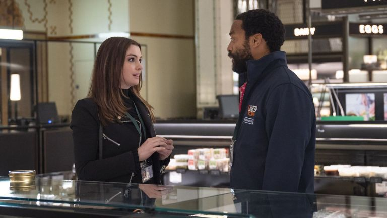 Anne Hathaway and Chiwetel Ejiofor in Locked Down Review