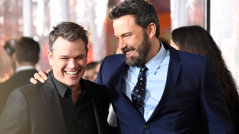 Ben Affleck and Matt Damon at Warner Bros Movie Premiere