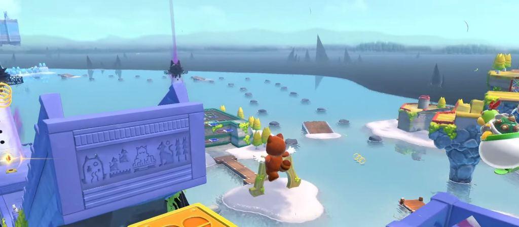 Super Mario 3D World Boswser's Fury Cat Ears