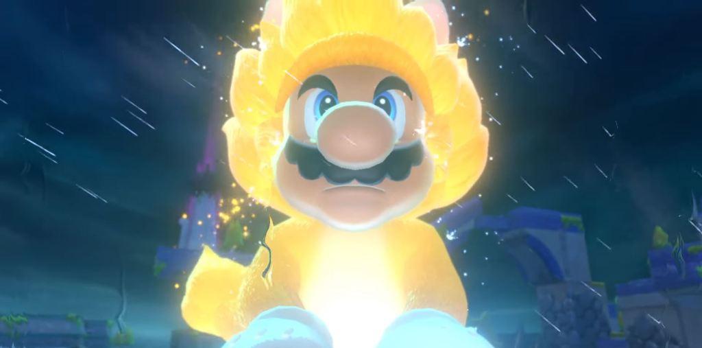 Super Mario 3D World Boswser's Fury Cat Suit
