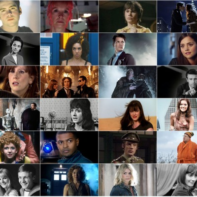 Doctor Who Companions composite header image