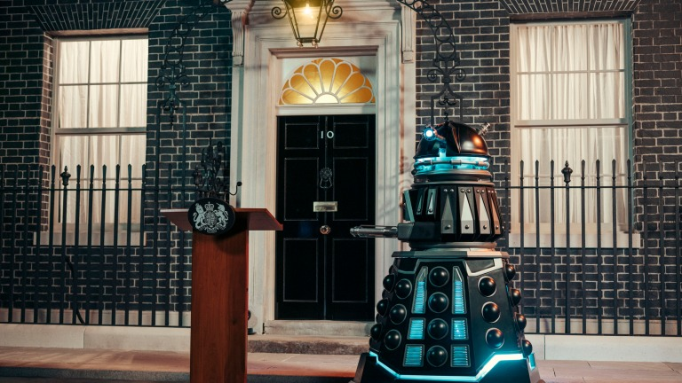 Doctor Who Revolution of the Daleks 10 Downing Street