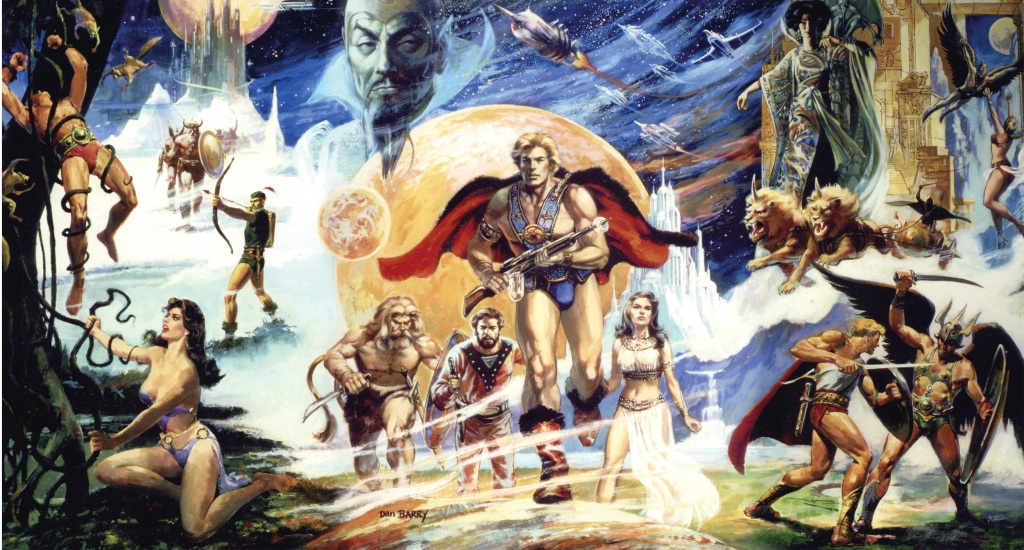 An Image From Flash Gordon: The Official Story Of The Film By John Walsh