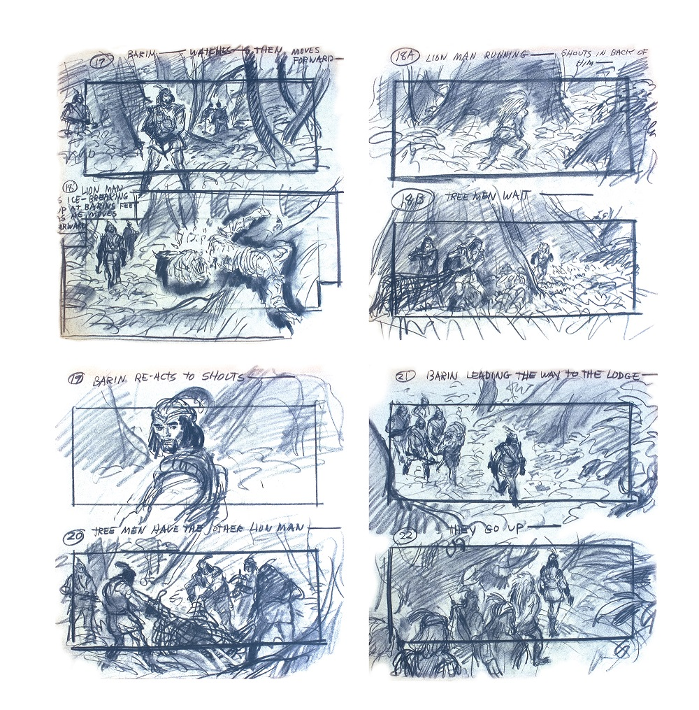 Storyboards From Flash Gordon