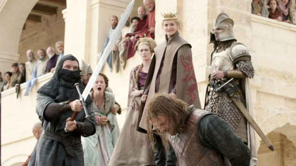 Game of Thrones Ned Stark Death