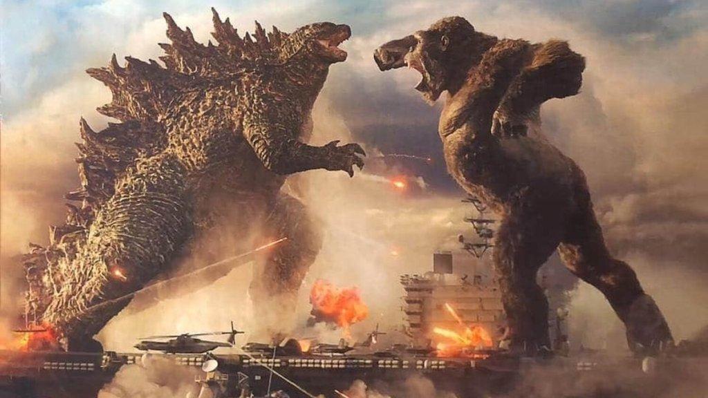 Arte promocional de Godzilla vs Kong