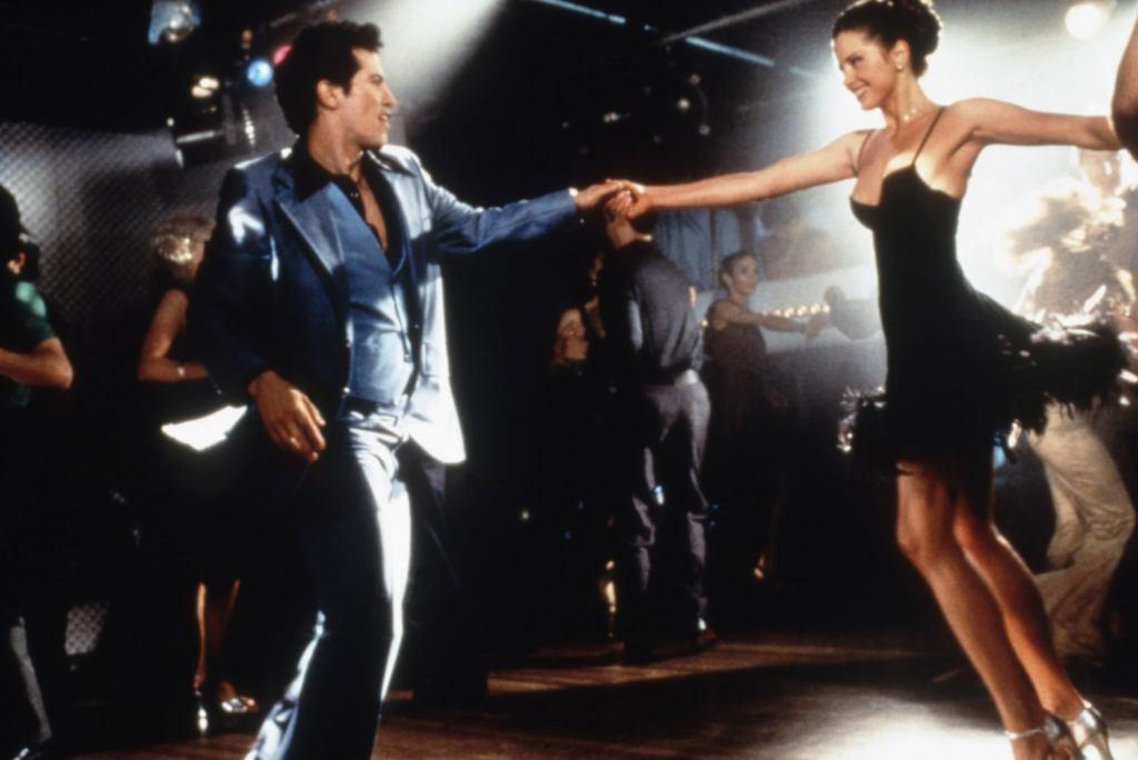 John Leguizamo and Mira Sorvino in Summer of Sam