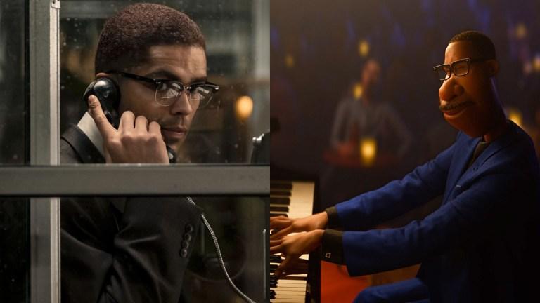Malcolm X in One Night in Miami and Joe in Soul