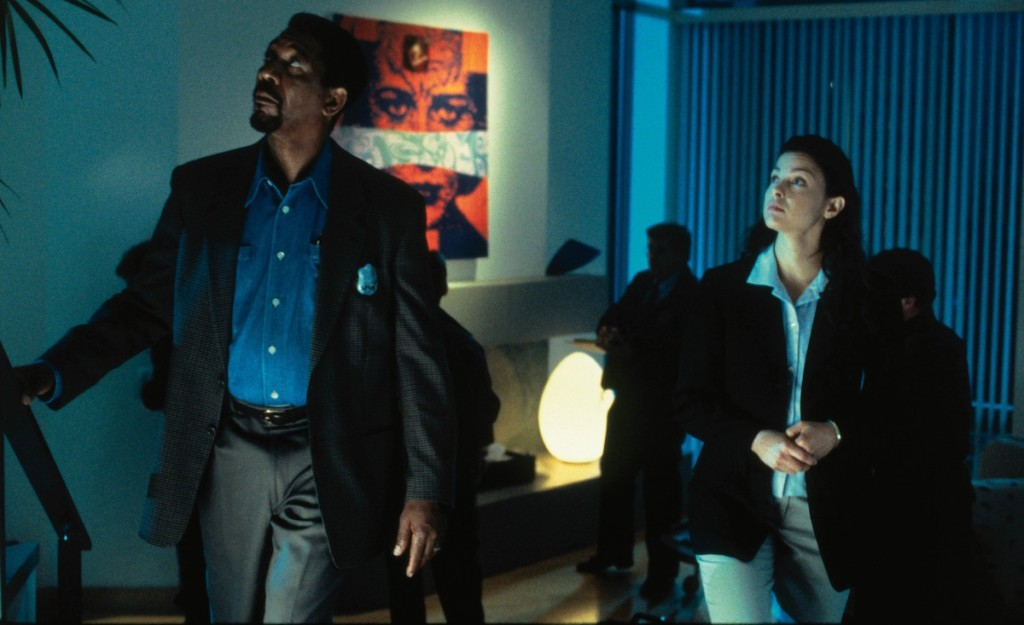 Morgan Freeman and Ashley Judd in Kiss the Girls