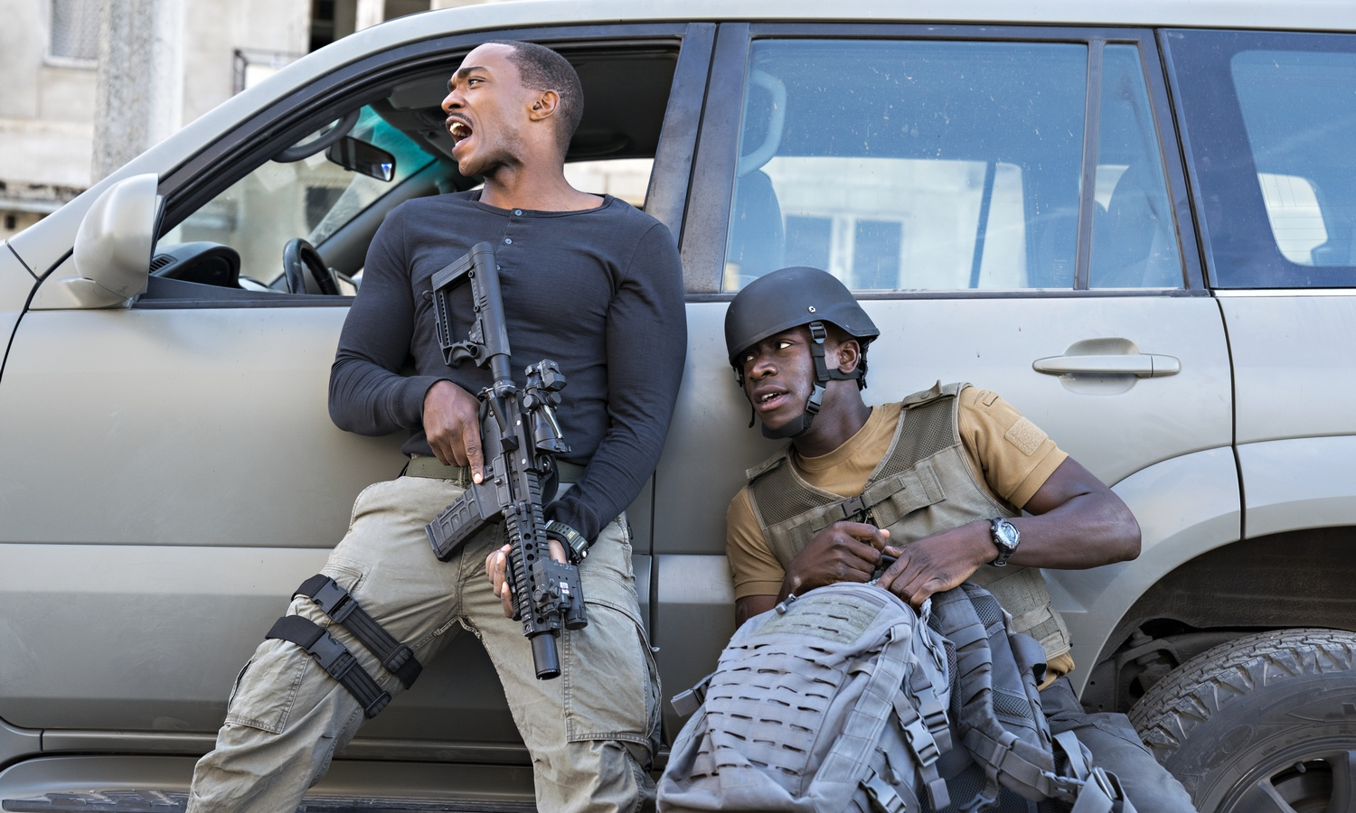 Outside the Wire Review: Anthony Mackie Takes on Military Sci-Fi, Netflix  Style | Den of Geek