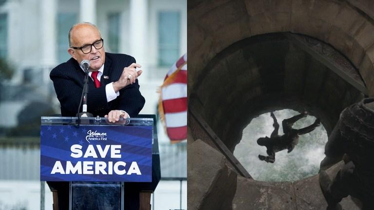 Rudy Giuliani and Game of Thrones Trial by Combat Moon Door