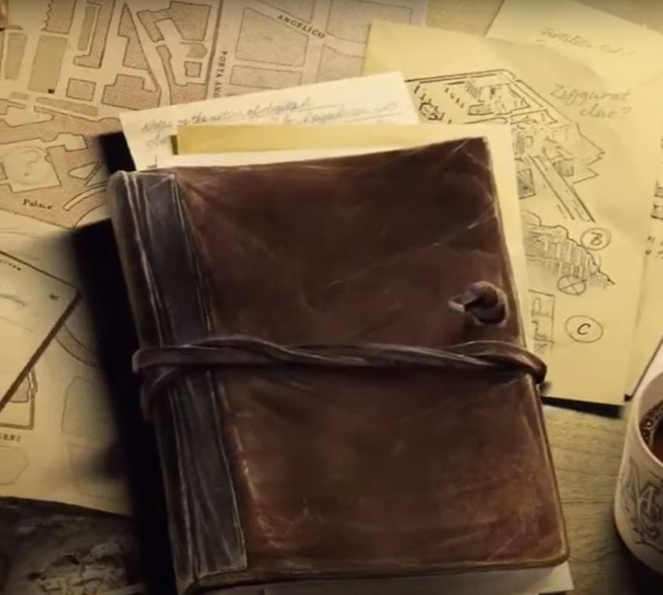 Journal in Bethesda's Indiana Jones Game