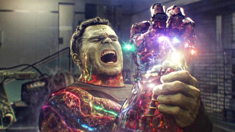 Mark Ruffalo as the Hulk in Avengers: Endgame