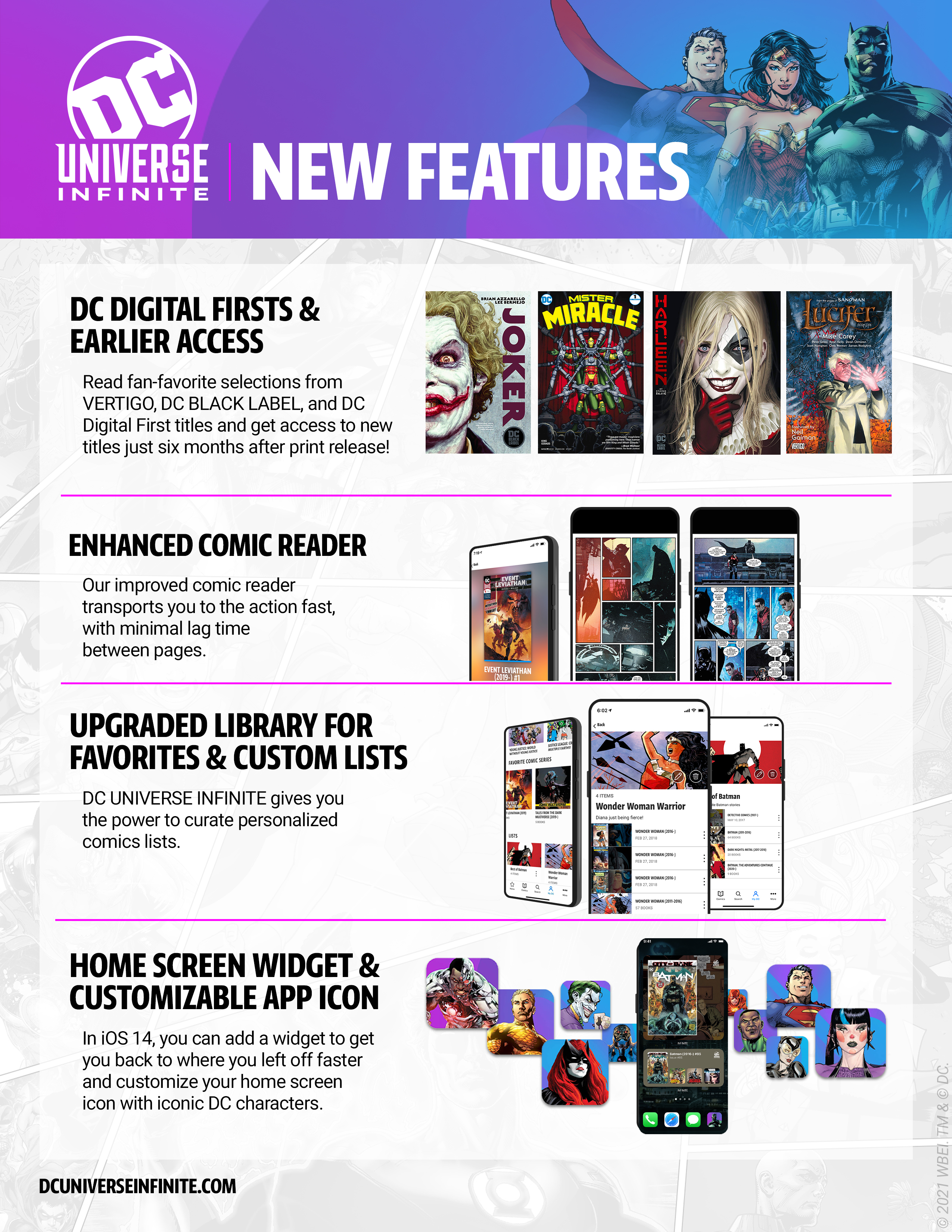How DC Universe Infinite Brings Welcome Changes to the Digital Comics Reading Experience