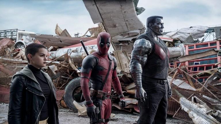 Deadpool with Negasonic Teenage Warhead and Colossus