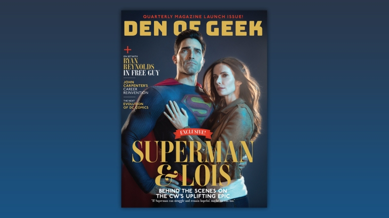 Den of Geek Magazine Superman and Lois Cover