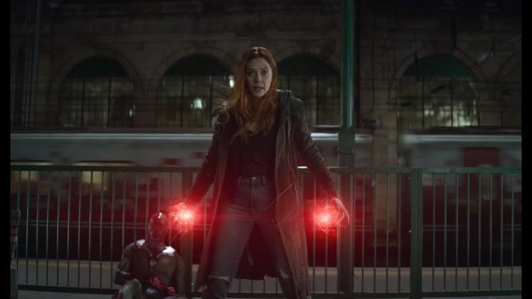 Elizabeth Olsen as Scarlet Witch in Marvel's Avengers: Infinity War