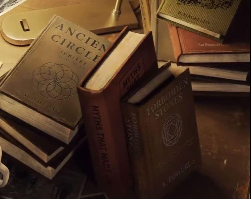 Books in Bethesda's Indiana Jones Game