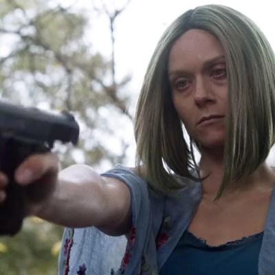Hilarie Burton as Lucille on The Walking Dead