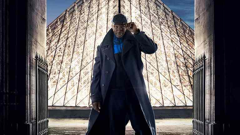 Omar Sy as Assane Diop in Lupin on Netflix