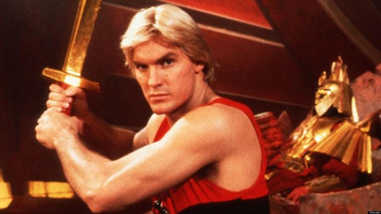 Sam J. Jones As Flash Gordon