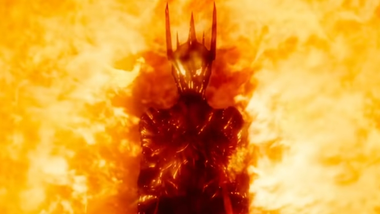 Sauron in The Hobbit: The Battle of the Five Armies