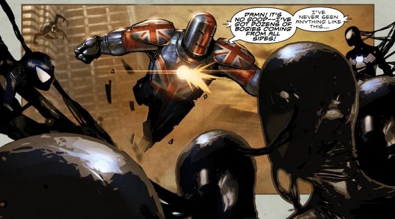 Symbiote Spider-Men in the Age of Apocalypse