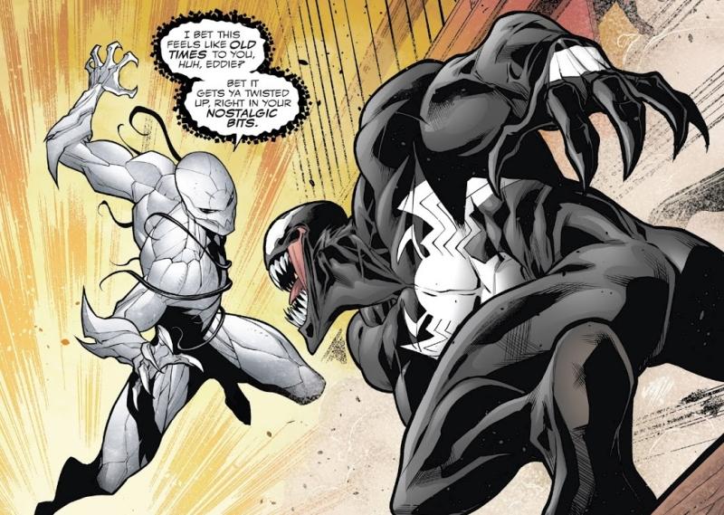 Poison Spider-Man vs. Venom in Venomized
