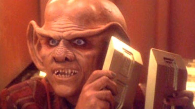 Quark Holds Up Gold in Star Trek: Deep Space Nine