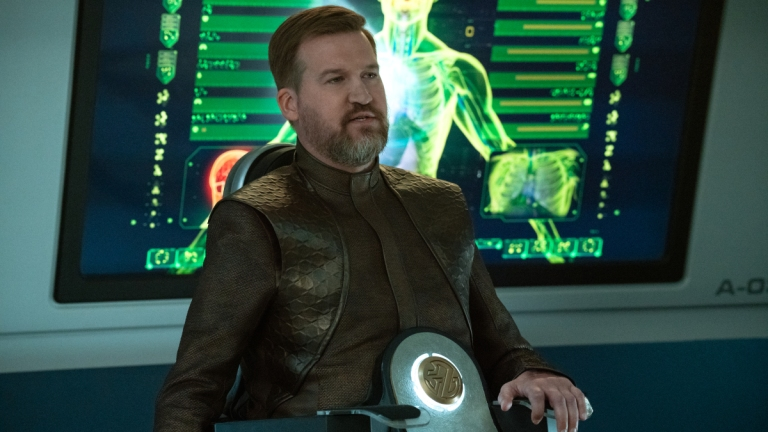 Kenneth Mitchell in the Star Trek: Discovery Season 3 Finale
