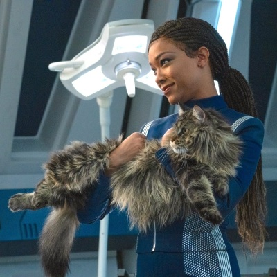 Michael and Grudge in Star Trek: Discovery