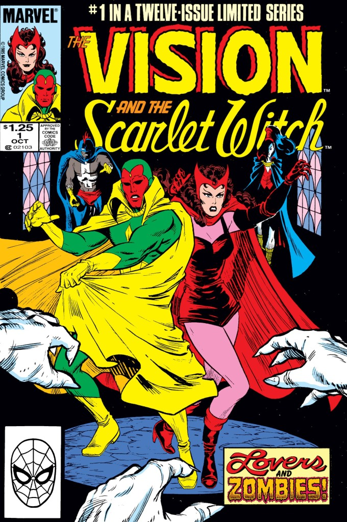 The Vision and The Scarlet Witch #1 from Marvel Comics