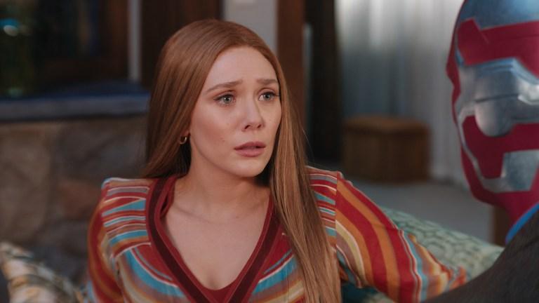 Elizabeth Olsen as Wanda in Marvel's WandaVision Episode 4
