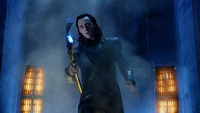 Tom Hiddleston as Loki in Avengers (2012)