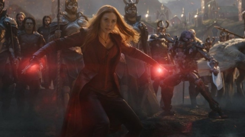 Scarlet Witch returns in Avengers: Endgame