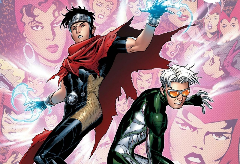 Wiccan and Speed from Marvel's Young Avengers