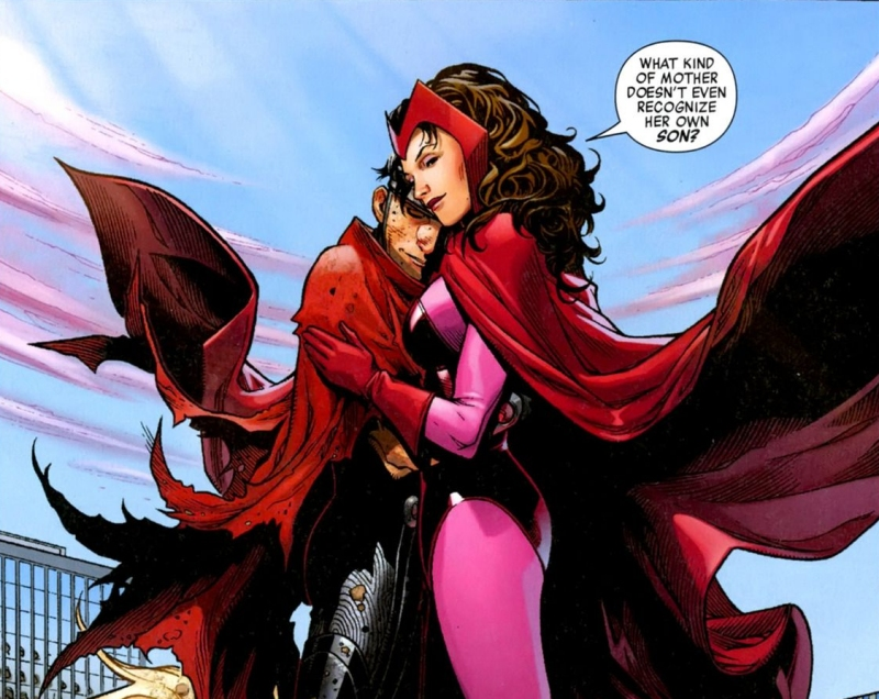 Wiccan and Scarlet Witch
