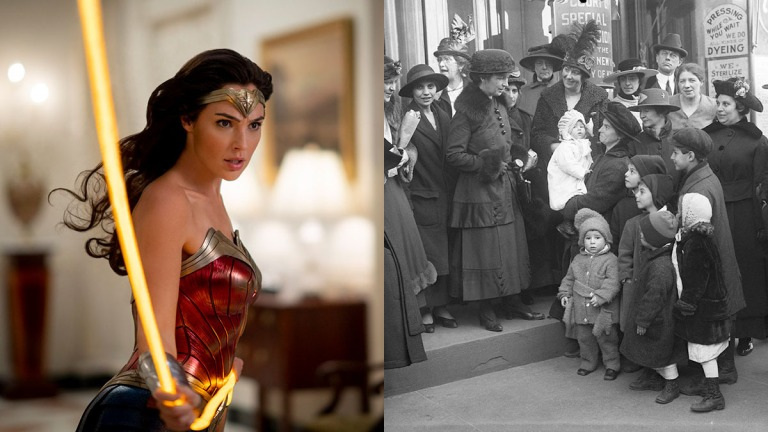 Wonder Woman and the Early Suffragist Feminist Movement with Margaret Sanger and Ethel Byrne