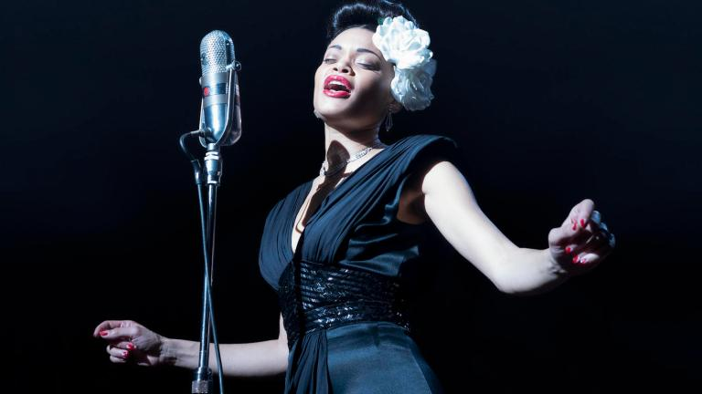 Andra Day Singing in The United States vs Billie Holiday